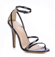 2013 new arrival big sizes high heels brand sandals ladies dress party wedding shoes for women 5186-9a