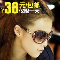 Women's sun glasses anti-uv sunglasses polarized sunglasses driver mirror myopia sunglasses