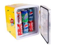 FEDEX Free 8L Cooling and Heating Box Car Refrigerator Mini refrige heating box 12V car cooler box frigobar