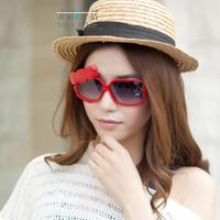 Women sun glasses female mirror driving mirror driving glasses anti-uv sunglasses