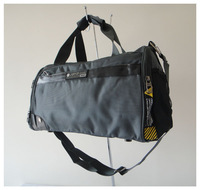 F0053(grey)Leisure bags,high quality fabric,Size:40 x25cm,4 different colors,shoulder straps,two function,Free shipping