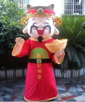 2013 the god of fortune mascot costume for adult