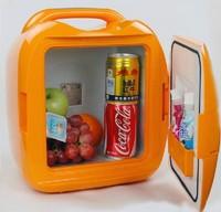 FEDEX Free Shipping,Portable car fridge,8L Portable Refrigerator,Car fridge 12V,Cow Fridge,AC 220-240V/DC 12V