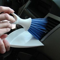 Car brush outlet cleaning brush apertural instrument tray brush door handle small brush