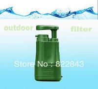 Mini Portable Water/PP Contton Pre filter+Carbon fiber filter+Ultrafiltration/0.01micro/Remove all bacteria