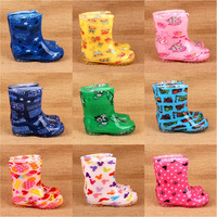 Small child wear-resistant scrub gel child rain boots rainboots rain shoes 2013