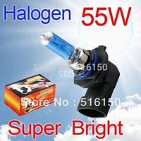 2pcs 9006 HB4 Super Bright White Fog Halogen Bulb Hight Power 55W Car Head Lamp Light V4 12V