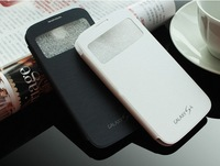 1PC Hot Sale Official Design Orignal Quality flip cover case for Galaxy S4 i9500   free shipping