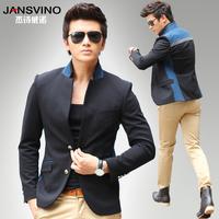 2013 small suit male slim suit male outerwear short design suit male