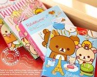 2013 new.  rilakkuma on travel Notepad . Memo . 4 fold sticky note pad . notebook .hot sale