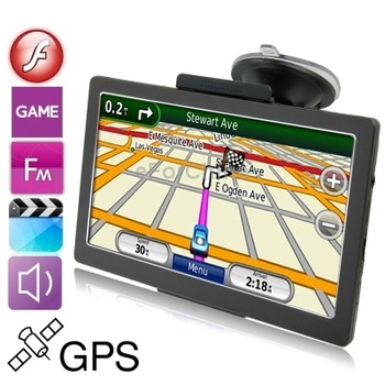 7.0 inch TFT Touch Screen Car GPS Navigator, Support Voice Broadcast, FM Transmitter Function, Built in 8GB Memory and Map