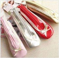 2013 new. Ballet shoes design pens child pencil bag.Cosmetic bag.pouch.Storage Bags.      .hot sale