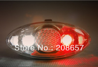 New 4 LED Bike Cycling Bicycle Safety Lamp Light 4 Modes Helmet Arm Front Rear Tail Lamp