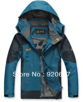 2013 New.spring Waterproof, Outdoor, mountain hiking,Men and Man coat climbing clothes fashion jacket