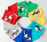 FREE SHIPPING girl's boys children's kids Clothing baby summer clothes pants shorts mickey children shorts ALIT27