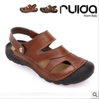 Ruida 13 classic all-match bag dual-use cattle leather sandals casual sandals r615