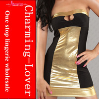 2013 new sexy clubwear Heart hole front fashion party mini dress adult sexy strapless party clothes wholesale cheap