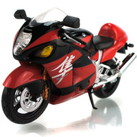2013 HOT ! Junki 1:12 SUZUKI GSX-1300R With suspension Alloy super motorcycle Model !  freeshipping !  5colors to choose