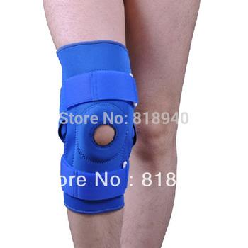 Neoprene Knee Brace/Support Stabilising Patella Ligament Injuries Hinged Velcro