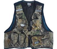 Men Women Camouflage fishing vest multi-pocket photography vest outdoor vest fishing vest
