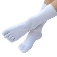 Hot Men's Five-Toe Flip Flop Geta Tabi cotton Socks W NI5L