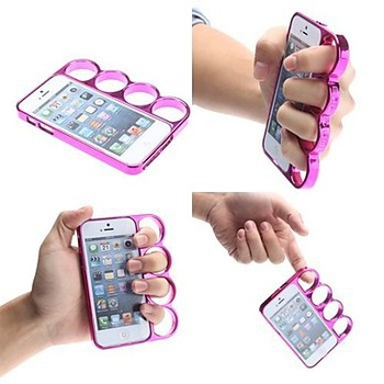 Free Shipping!New arrival cost sell 1pcs knuckle case for iPhone 5,The Rings New Creative Designer knuckles for iphone 5