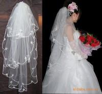 Bridal veil white accessories