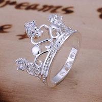 SIZE 8# Free Shipping 925 sterling silver ring 925 ring silver ring silver Fashion jewelry asga jjna sawa LQ-R034