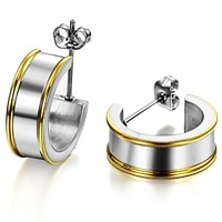 Fashion accessories jewelry gift titanium stud earring ge259