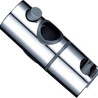 Round tube shower mount adjustable down shower base adjustable abs card