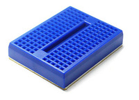 Free shiping Best prices !!! Mini Blue Solderless Prototype Breadboard 170 Tie-points for Arduino Shield