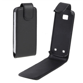 Leather Case for Nokia C5 , Free shipping c5 leather case