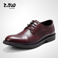 Euramerican Fashion Men's pointed toe lace-up cow leather party Dress wedding shoe,business male formal suit office shoes,39-44