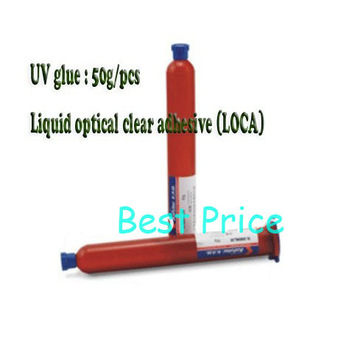 NEW UV LOCA liquid optical clear adhesive glue for lcd and touch screen for Samsung galaxy s4 i9500 s3 i9300 Note For iPhone