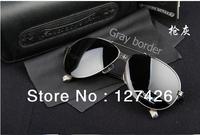 Free shipping  2013 !Fashion Designer round Fashion star Sunglasses UV400 sunglasses for men With Original packaging box