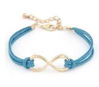 Min.order is $10 (mix order) SJB310 Fashion Infinity bracelet Eight cross bracelet bangle jewelry!Free shipping!! cRYSTAL sHOP