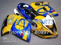 TOP Yellow Blue Fairing for Hayabusa GSXR1300 08 09 GSX-R 1300 2008-2009 GSX-1300R 08 09 2008 2009