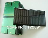 Wholesae! Monocrystallicon 1W 6V  Mini Solar Cell Solar Module Small Solar Panel for Battery Charger 10pcs/lot  Free Shipping