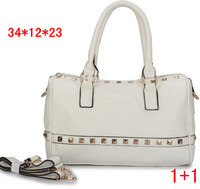 2013 Hot Sale Fashion Women Bags handbag Lady PU handbag Leather Shoulder Bags free shipping