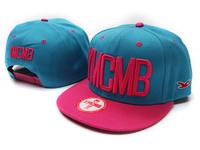 Fashion male women's ymcmbhip hop hiphop flat along the cap color block decoration hip-hop cap mlb baseball cap free shoping