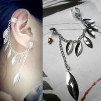 Min Order 12$ 2013 new, vintage alloy tassel clip earrings, fashion jewelry ES0002
