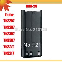 10pcs/lot FM radio communication battery KNB 29N NI-MH 1300MAH for Radio FM TK-2307 two way radio TK-3307 interphone