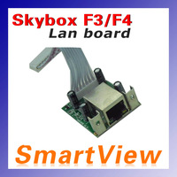 Lan board Lan Module network card internet card for skybox F3 F4 satellite receiver free shipping