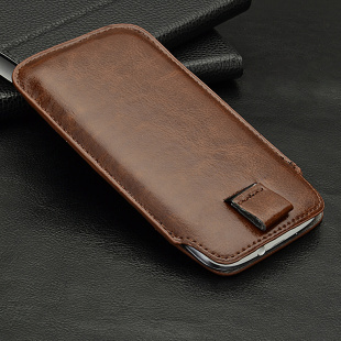 Leather PU Pull Pouch Case Bag for Jiayu G2 G2s Zopo ZP100 ZP500+ Tianji/Tinji A7100 D7100 Cover Free Shipping Wholesales(China (Mainland))