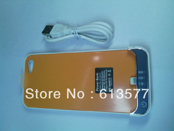 Yellow color for iphone5 thin travel battery Deloo for iphone5 battery(China (Mainland))