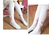 Free Shipping Wholesale New Ballet children pantyhose Cute Ballerina girl Cotton children  girl tight pantyhose 2pairs/lot