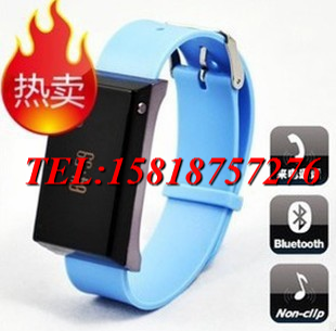 Bluetooth watch mobile phone bluetooth earphones watch type vibrate fashion gift