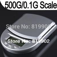 Factory Price 10pcs/lot 500g X 0.1g Digital Weight Pocket Mini Jewelry Scale