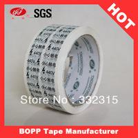 Brand Logo Advertising Printed BOPP Sellotape Custom Packaging tape Custom Tape