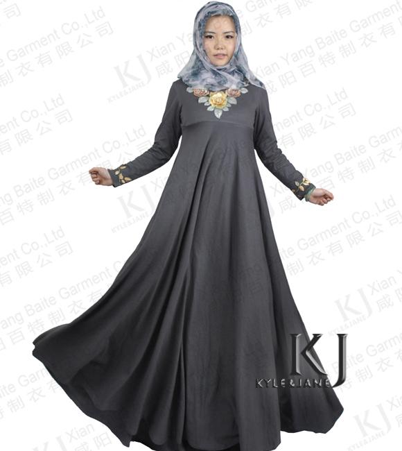 Clothing for women modern fashion girl styled dubai long dress muslim